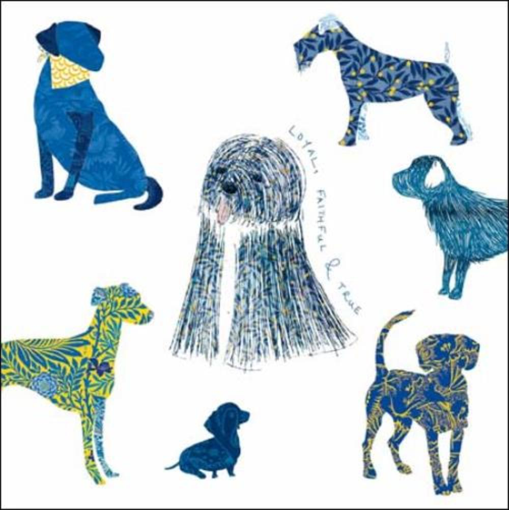 National Trust Heritage Dogs Greeting Card