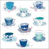 National Trust Heritage Tea Cup Greeting Card