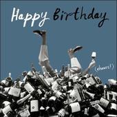 Happy Birthday Cheers! Retro Humour Birthday Card