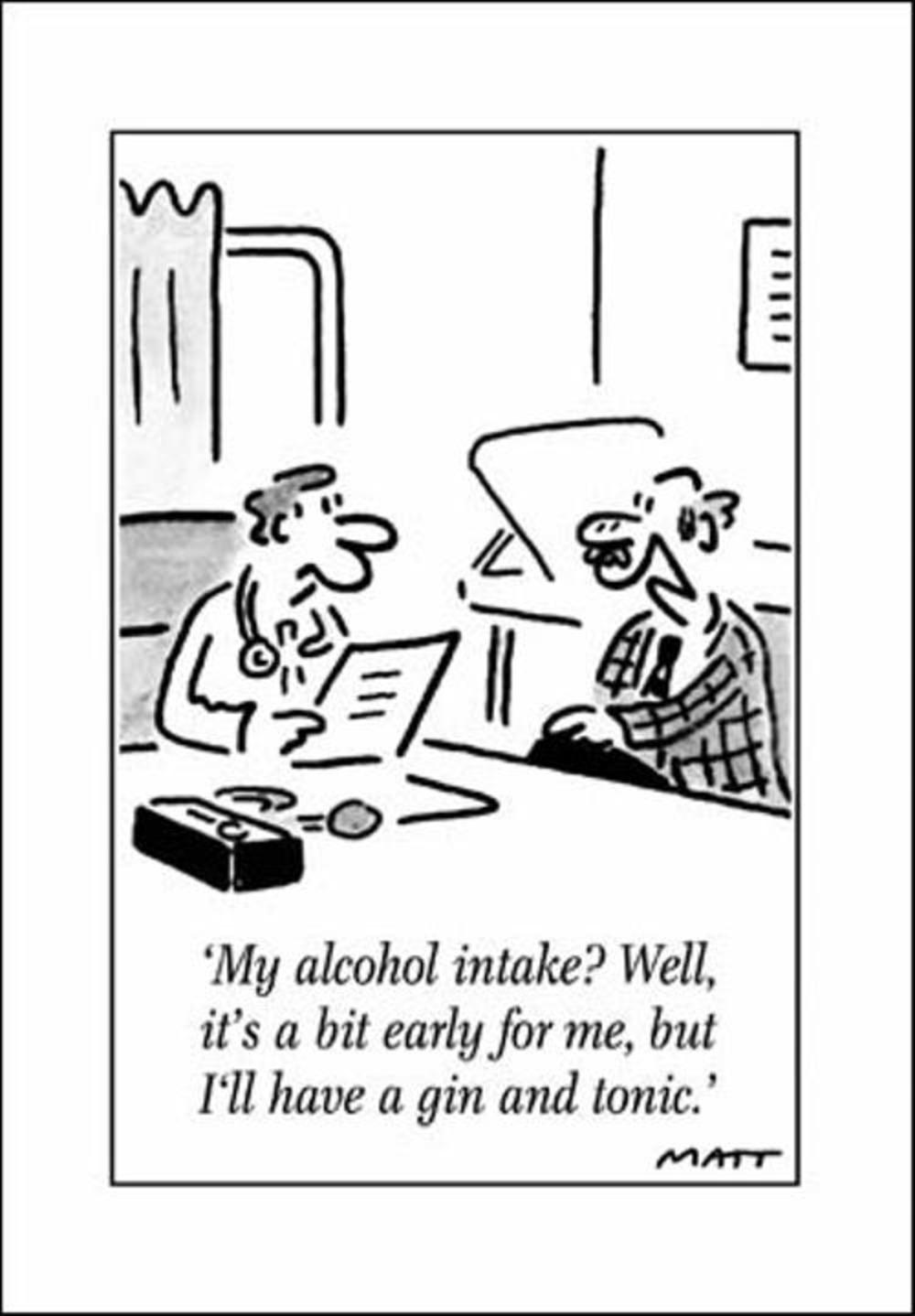Alcohol intake funny matt greeting card cards love kates alcohol intake funny matt greeting card kristyandbryce Image collections