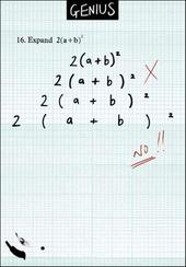 Maths Formula Funny Genius Greeting Card