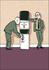 Office Wine Dispenser Funny Berger & Wyse Card