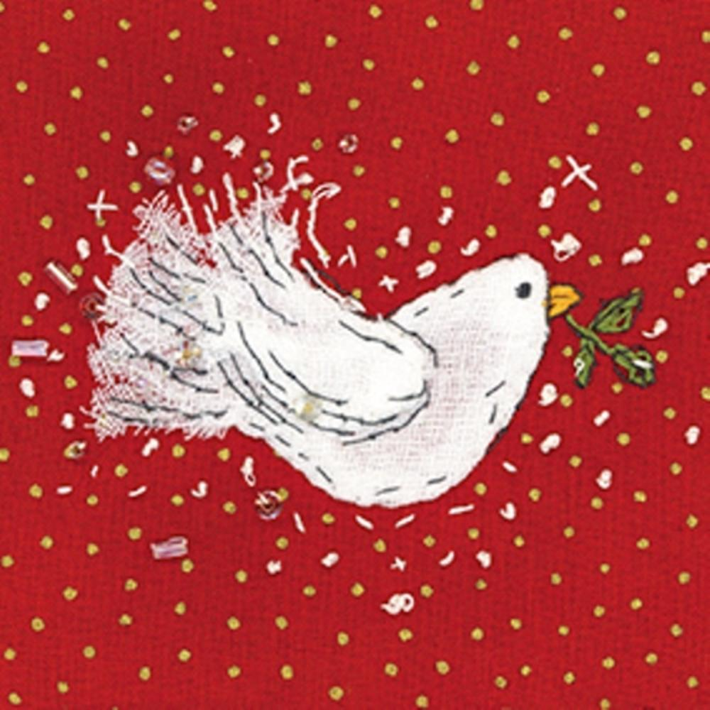 Pack of 8 Mini Sweet Dove Age UK Charity Christmas Cards
