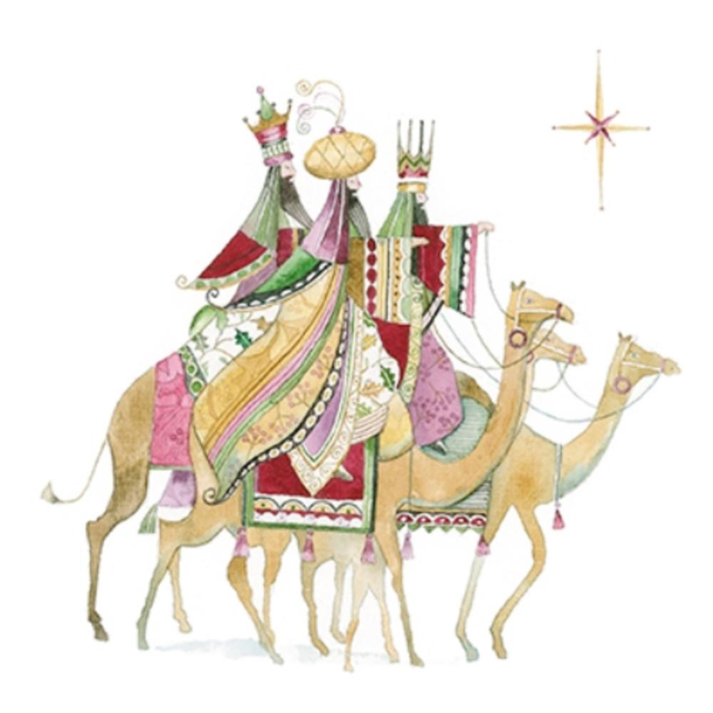 Pack of 6 Three Wise Kings Charity Christmas Cards