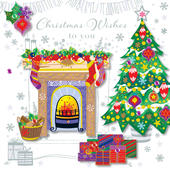 Christmas Wishes To You Greeting Card