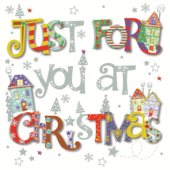Just For You At Christmas Greeting Card