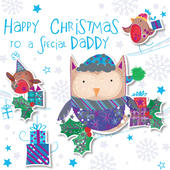 Special Daddy Happy Christmas Greeting Card