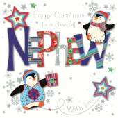 Special Nephew Happy Christmas Greeting Card