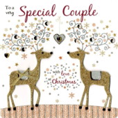 To A Special Couple Special Luxury Handmade Christmas Card