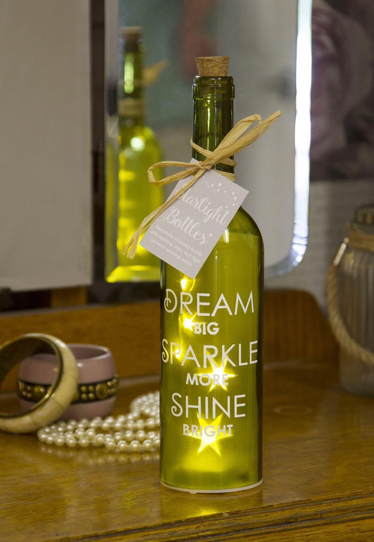 Dream Starlight Bottle Light Up Sentimental Message
