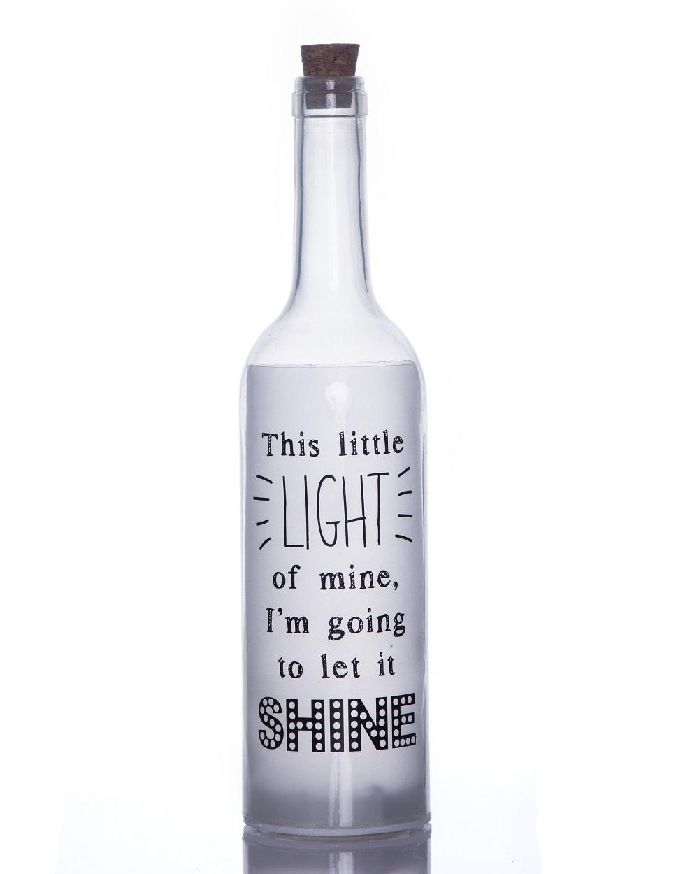 Little Light Starlight Bottle Light Up Sentimental Message Bottles