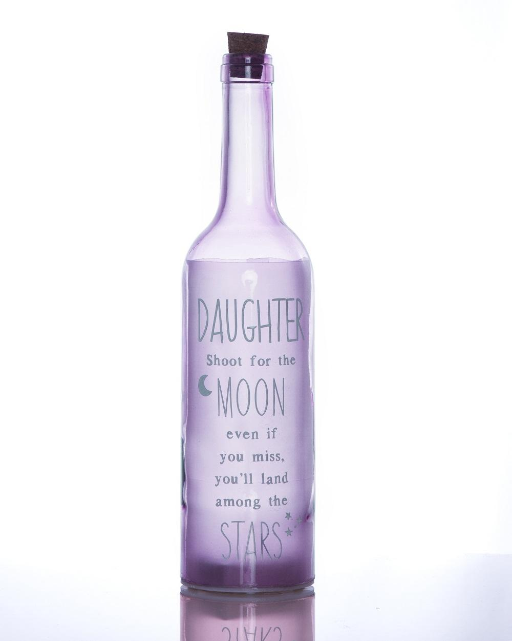 Daughter Starlight Bottle Light Up Sentimental Message Bottles