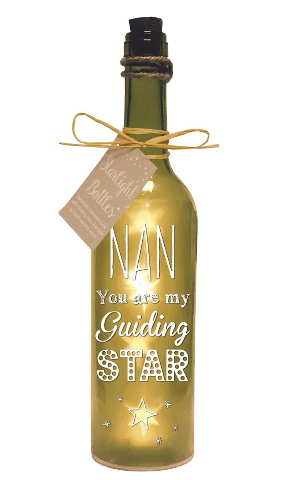 Nan Starlight Bottle Light Up Sentimental Message Bottles