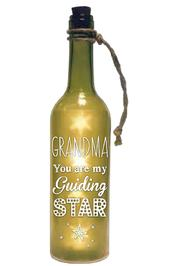 Grandma Starlight Bottle Light Up Sentimental Message Bottles