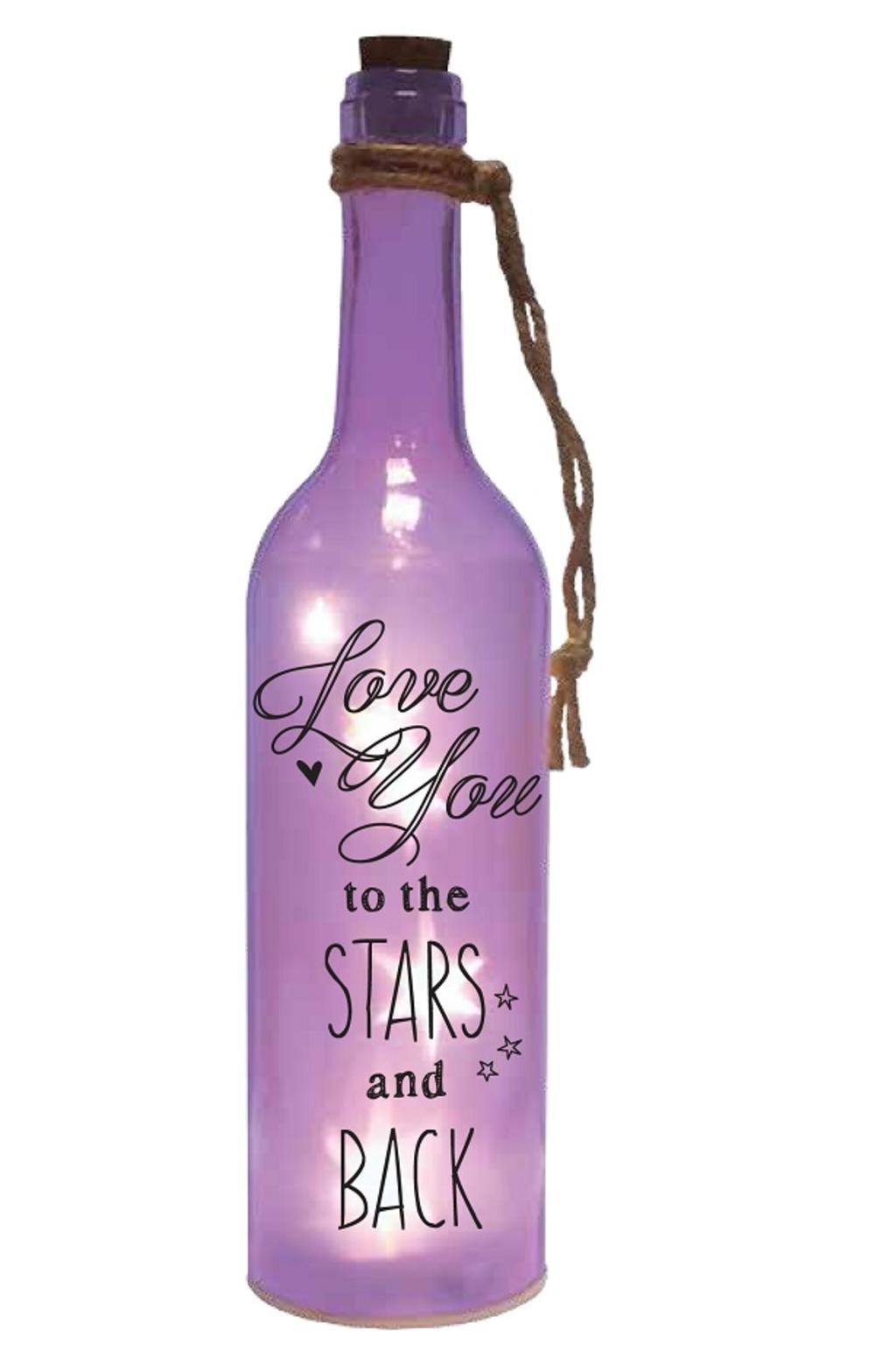 Love You Starlight Bottle Light Up Sentimental Message Bottles