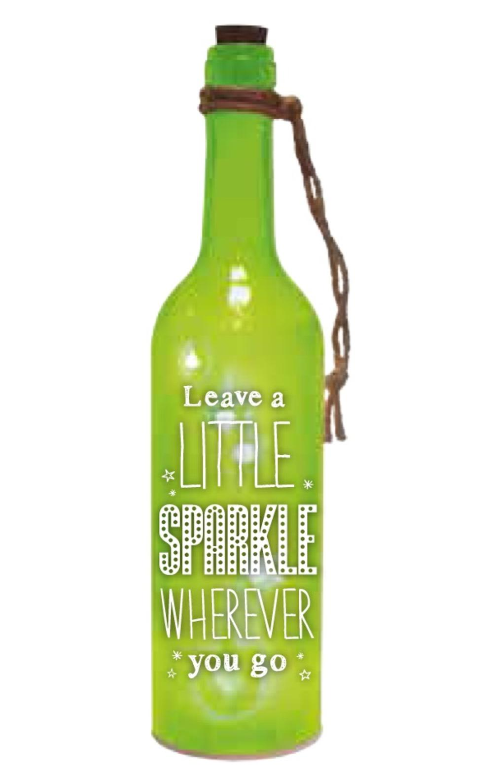 Little Sparkle Starlight Bottle Light Up Sentimental Message Bottles