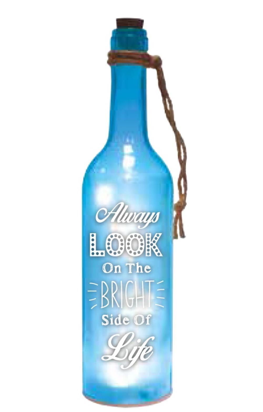 Bright Side Starlight Bottle Light Up Sentimental Message Bottles