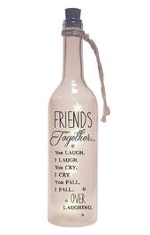 Friends Together Starlight Bottle Light Up Sentimental Message Bottles