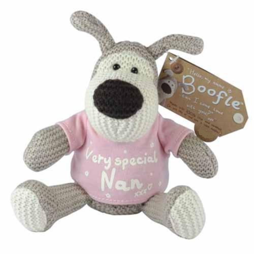 "Boofle Very Special Nan 5"" Sitting Plush Wearing T-Shirt"