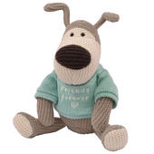 "Boofle Friends Forever 10"" Sitting Plush Wearing A Knitted Jumper"
