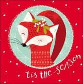 Pack of 5 Fox Children With Cancer Charity Christmas Cards