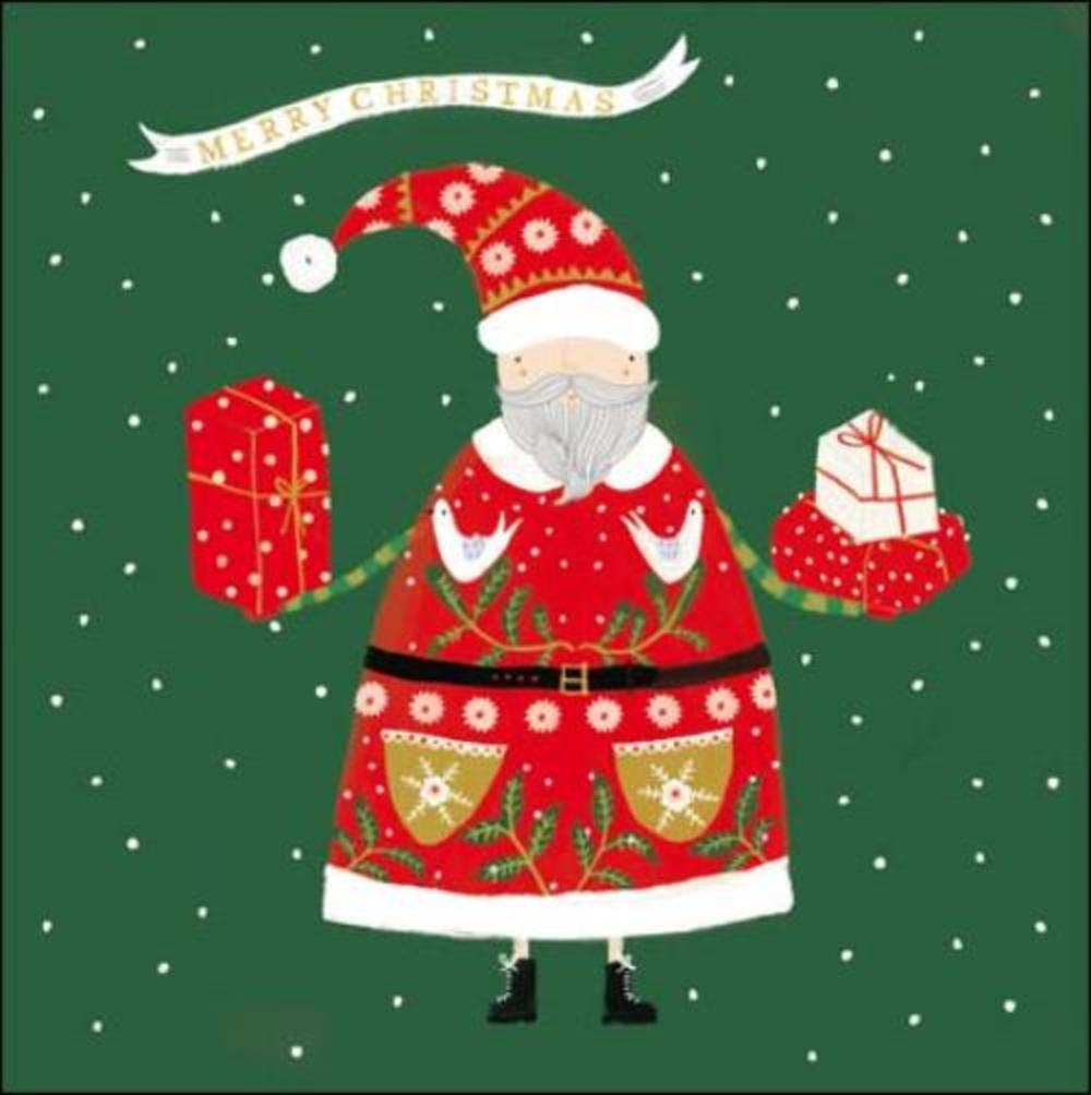 Pack of 5 Santa Children With Cancer Charity Christmas Cards