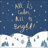 Pack of 5 Calm & Bright Children With Cancer Charity Christmas Cards