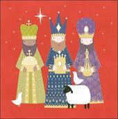 Pack of 5 Three Kings Children With Cancer Charity Christmas Cards
