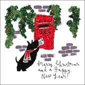 Pack of 5 Christmas Post Prince's Trust Charity Christmas Cards