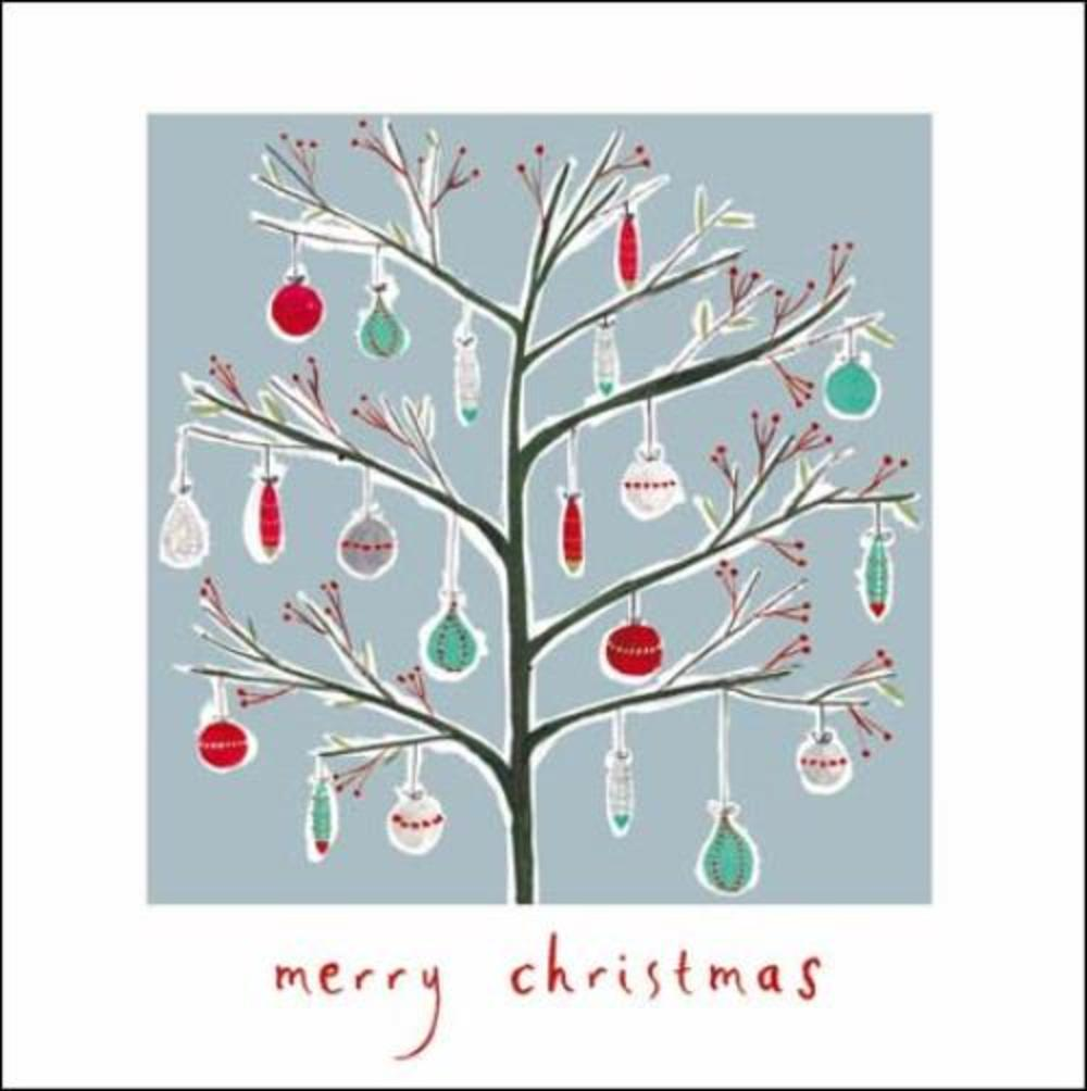 Pack of 5 Deck The Halls ChildLine Charity Christmas Cards