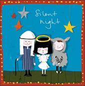 Pack of 5 Nativity Play British Heart Foundation Charity Christmas Cards