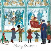 Pack of 5 Shop Window Alzheimer's Society Charity Christmas Cards