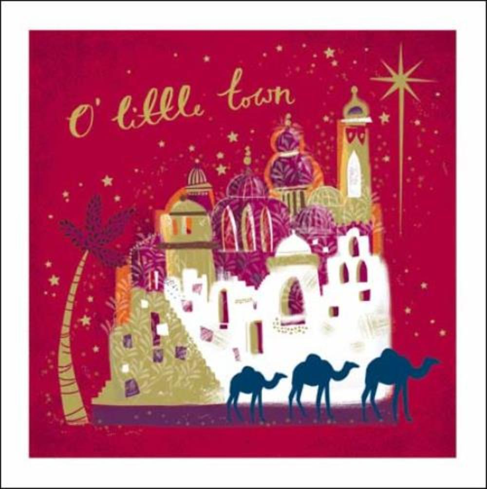 Pack of 5 Bethleham Marie Curie Charity Christmas Cards