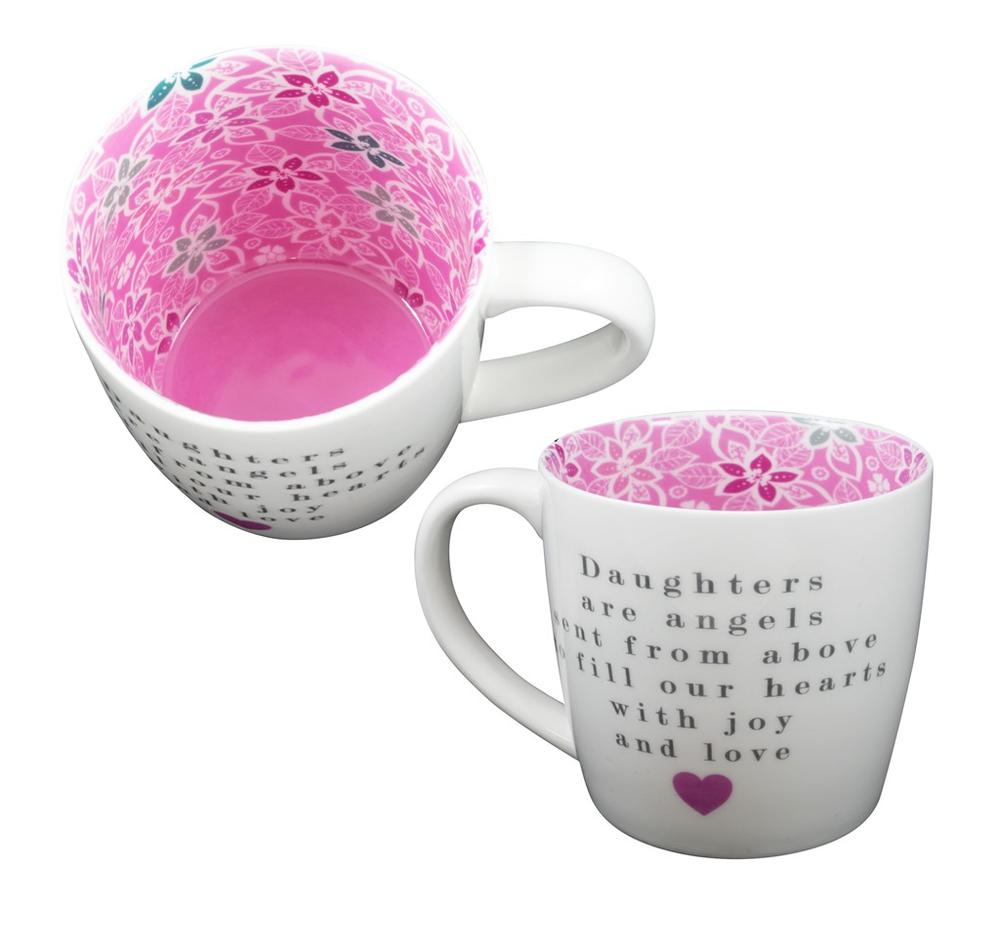 Daughters Are Like Angels Inside Out Mug In Gift Box
