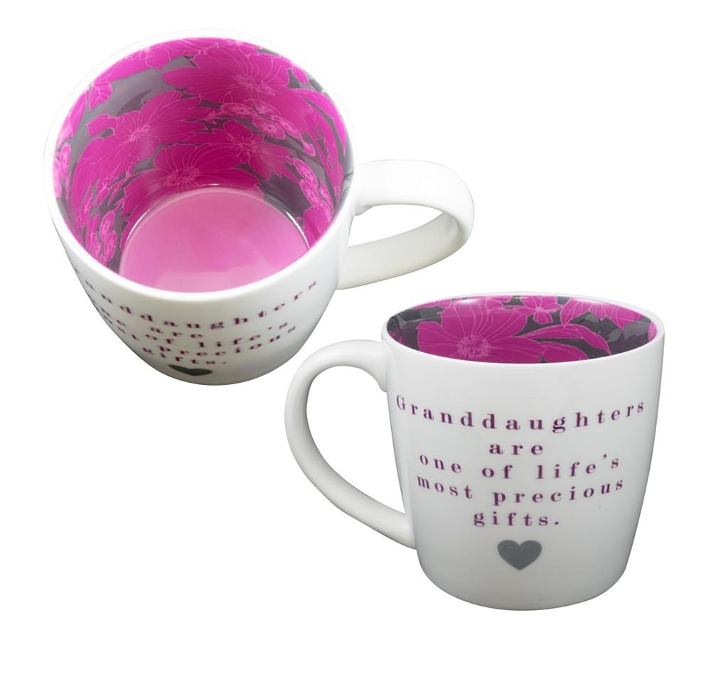 Granddaughters Are Precious Gifts Inside Out Mug In Gift Box