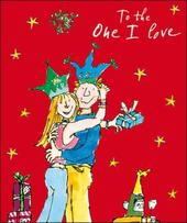 One I Love Quentin Blake Christmas Greeting Card