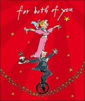 Both Of You Quentin Blake Christmas Greeting Card