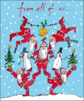 From All Of Us Quentin Blake Christmas Greeting Card
