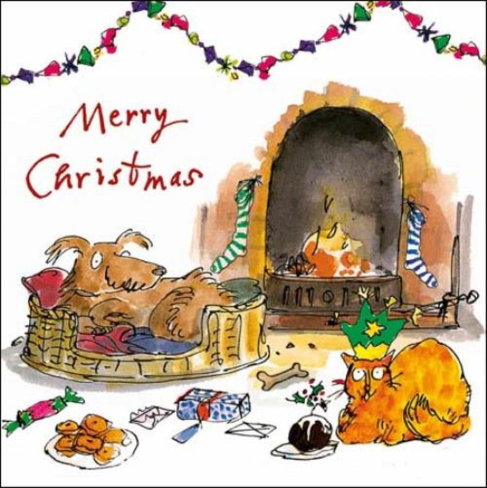 Merry Christmas Quentin Blake Christmas Card Cards