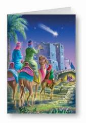 Three Kings Advent Calendar Christmas Greeting Card