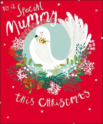 To A Special Mummy Christmas Greeting Card