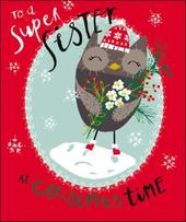 To A Super Sister Christmas Greeting Card