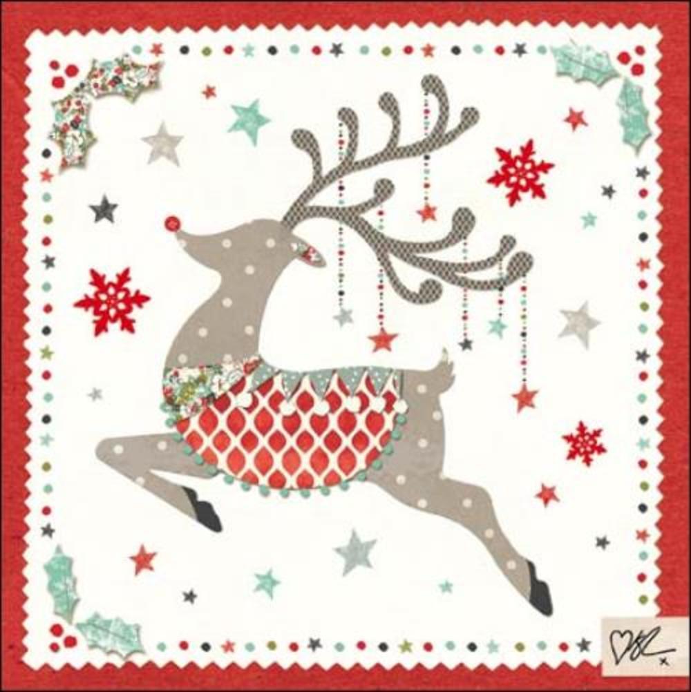 Kirsty Allsopp Rudolph Christmas Greeting Card