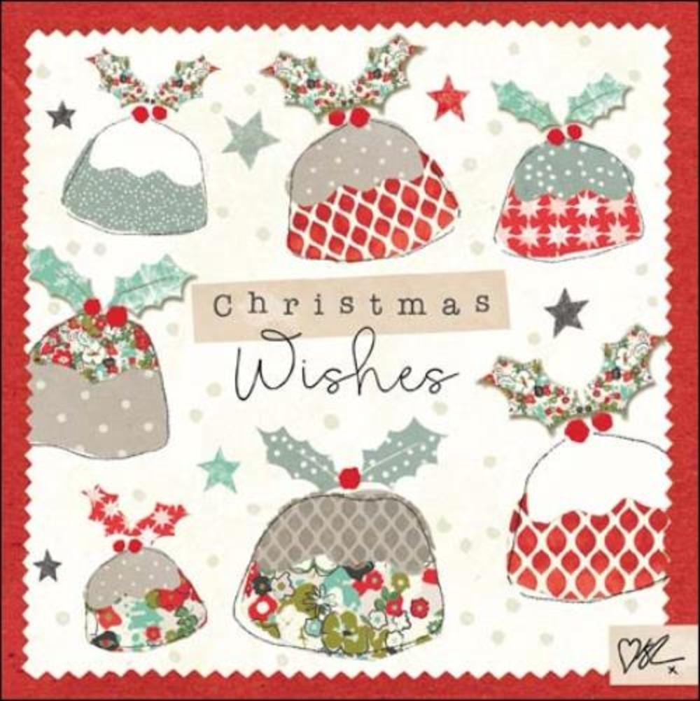 Kirsty Allsopp Puddings Christmas Greeting Card