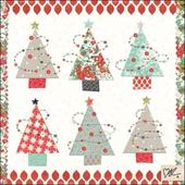 Kirsty Allsopp Trees Christmas Greeting Card
