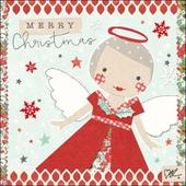 Kirsty Allsopp Angel Christmas Greeting Card