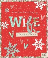 Wonderful Wife Kirsty Allsopp Christmas Greeting Card
