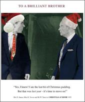 Brilliant Brother Funny Christmas Greeting Card