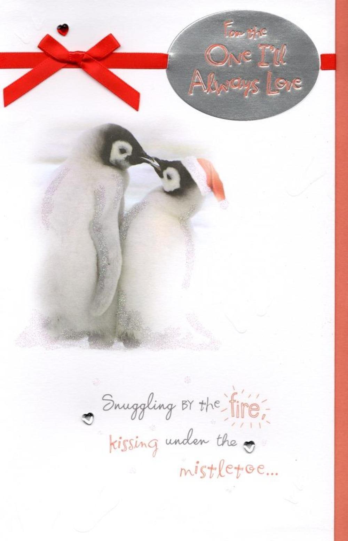 Cute One I Love Christmas Greeting Card