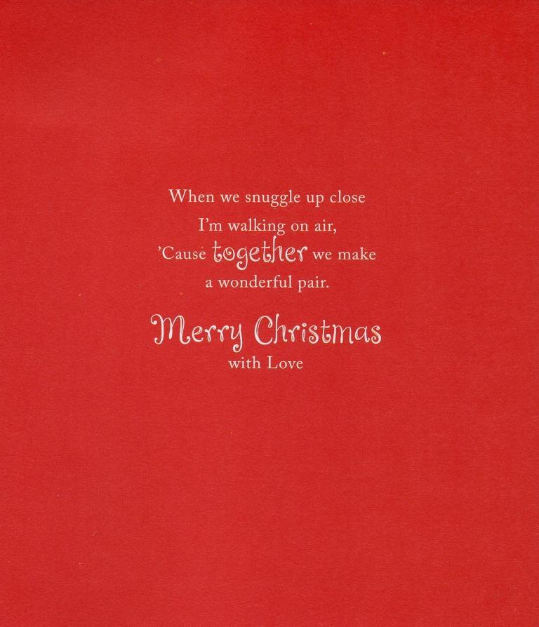 For my boyfriend cute christmas greeting card talk to the paw xmas sentinel for my boyfriend cute christmas greeting card talk to the paw xmas cards m4hsunfo